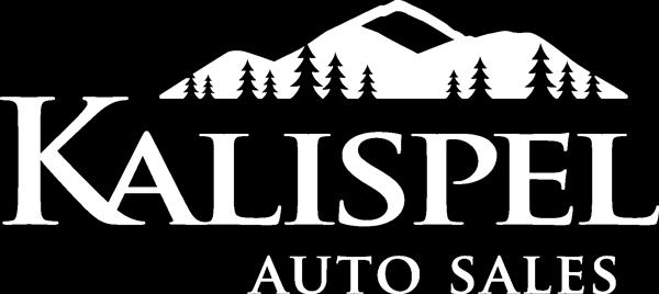 Kalispel Logo Autosales White